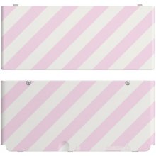 NINTENDO New 3DS Coverplate pink white...