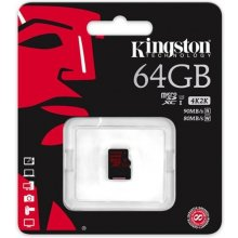 Mälukaart KINGSTON microSDXC 64GB UHS-I U3...