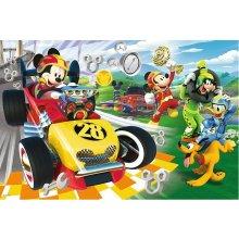 TREFL Puzzle 60 pcs - Miki hiir, Rally koos...