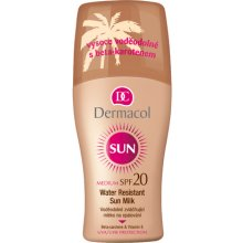 Dermacol Sun Milk Spray SPF20, Cosmetic...