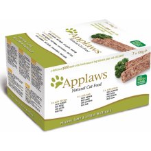 Applaws Pasteet Chicken, Lamb, Salmon 7x100g