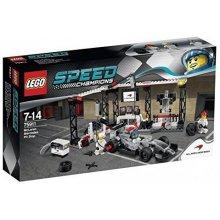 LEGO Speed Pit stop McLaren Mercedes