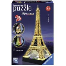 RAVENSBURGER 3D Puzzle Eiffel Tower Night...