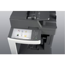 Printer Lexmark MX812dme, Laser, Mono, Mono...