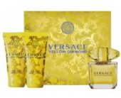 Versace жёлтый Diamond Set (EDT 5ml + лосьон...