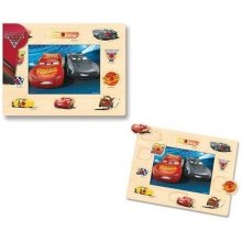 Brimarex Wooden puzzle koos thumbtacks, Cars...