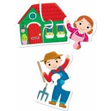 Liscianigiochi Carotina Baby Duo Farma