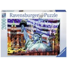 RAVENSBURGER RAVEN. 2000 EL. New York...