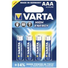 VARTA 1x4 High Energy Micro AAA LR 03