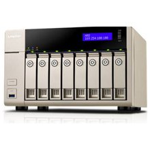 QNAP NAS TVS-863+-8G 8GB/2.4GHz 8-Bay