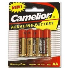 Camelion LR6-BP4 AA/LR6, Plus Alkaline, 4...
