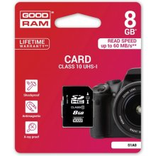 Флешка GOODRAM SD Card 8GB SDHC UHS-I class...
