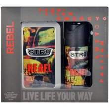 STR8 Rebel, Edt 100ml + 150ml deodorant, EDT...