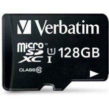 Флешка Verbatim microSDXC 128GB Class 10...