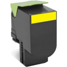 Тонер Lexmark 80C2SYE Cartridge, жёлтый...