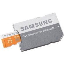 Флешка Samsung EVO microSDHC 8GB inkl. SD...