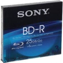Sony 3x 25GB BD-R, slimcase, BD-R