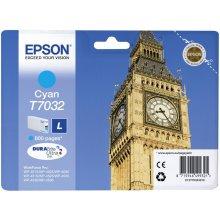 Тонер Epson C13T70324010 Tinte голубой