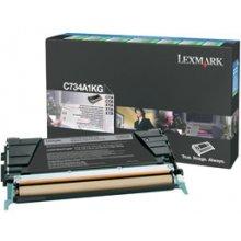 Тонер Lexmark C734A1KG, 8000 pages, Laser...