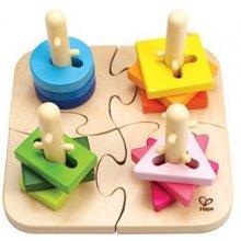 Hape Creative Puzzle 4 hooks