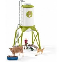 Schleich Farm Life Feed Silo koos Animals