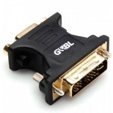 G&BL Adapter DVI analog male / VGA DB15...