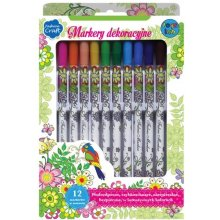 Stnux Markers for textiles ja ceramics, 12...