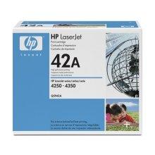 Тонер HP 42A чёрный, Laser, HP LaserJet...