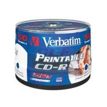 Диски Verbatim 1x50 CD-R 80 / 700MB 52x...