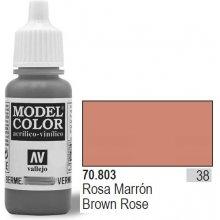 Vallejo Farba Nr38 Rose pruun Matt 17ml