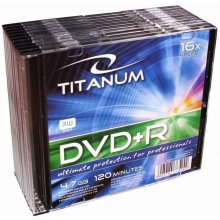Diskid Titanum DVD+R 4,7 GB x16 - Slim 10