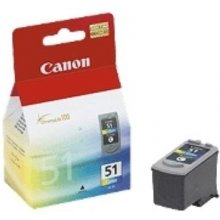 Tooner Canon CL-51 tint printhead color...