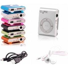"4World MP3 Player ""CLIPSE"", hõbedane"