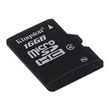 Флешка KINGSTON 16GB microSDHC Class 4