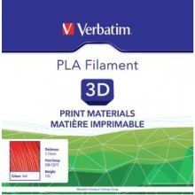 Verbatim Filament / PLA / punane / 1,75 mm...