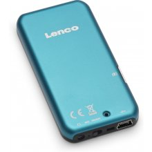Lenco XEMIO-655, MP3, Blue, Flash-media...