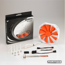 Phanteks PH-F140TS-OR Premium Fan - oranž