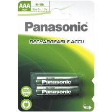 PANASONIC 1x2 Akku NiMH Micro AAA 900 mAh
