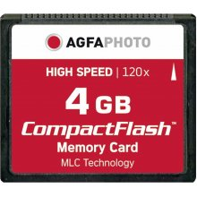 Mälukaart AGFAPHOTO Compact Flash 4GB High...