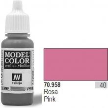 Vallejo Farba Nr 40 Pink Matt 17 ml