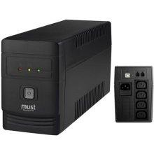 ИБП MUSTEK UPS PowerAgent 450 450VA, 240W...