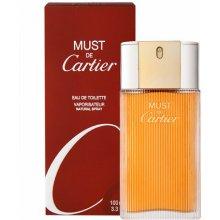 Cartier Must, EDT 50ml, tualettvesi naistele