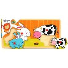 Brimarex Puzzle koos thumbtacks Rabbit ja...