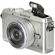 OLYMPUS Pen E-P3 Pancake Kit + 17 mm...