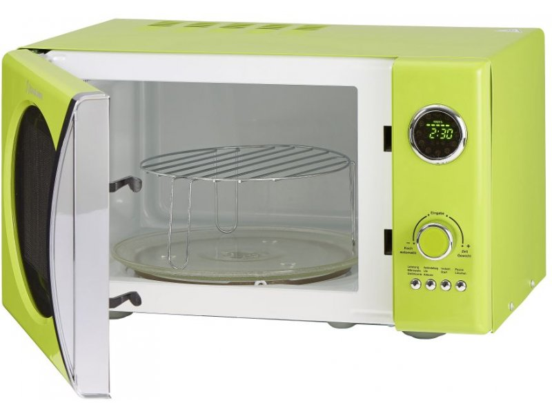 Retro Microwave Oven Green Bestmicrowave
