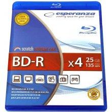 Diskid ESPERANZA BD-R 25GB x6 - BLURAY BOX 1...