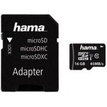 Mälukaart Hama microSDHC 16GB Class 10 UHS-I...