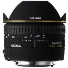 Sigma EX 15mm F2.8 DG диагональ-Fisheye...