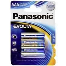 PANASONIC AAA, Alkaline, 4 pc(s)