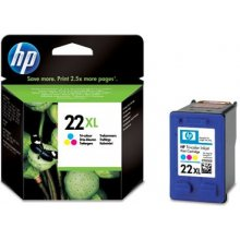 Тонер HP Cartridge 22XL tri-colour | 11ml |...
